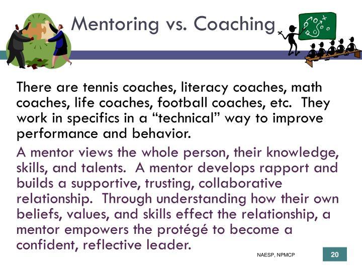 Mentoring vs. Coaching