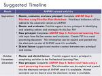 suggested timeline1