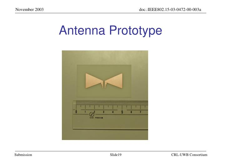 Antenna Prototype