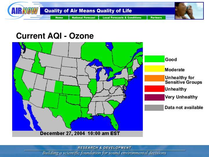 Current AQI - Ozone