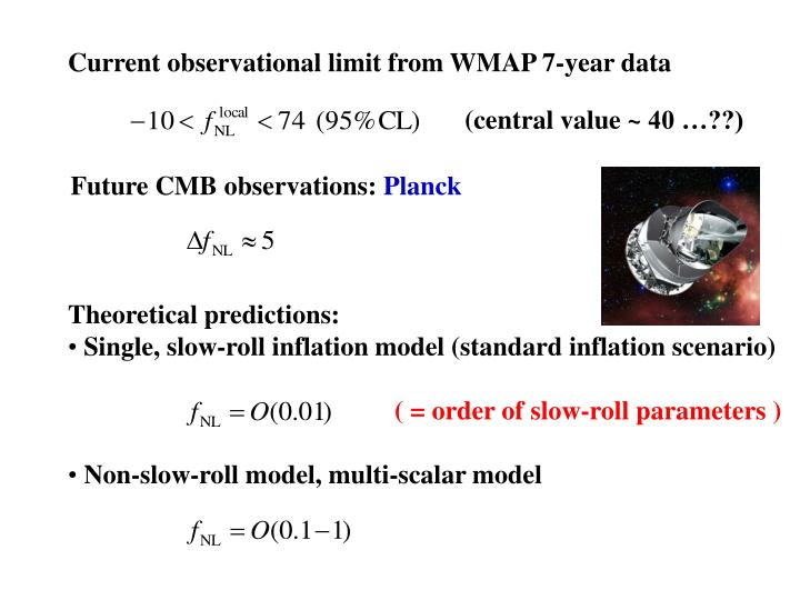 Current observational limit from WMAP 7-year data