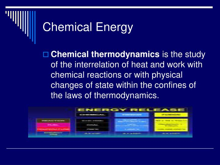 Chemical Energy