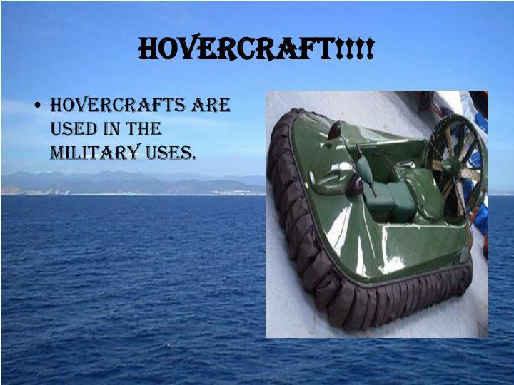 Hovercraft!!!!
