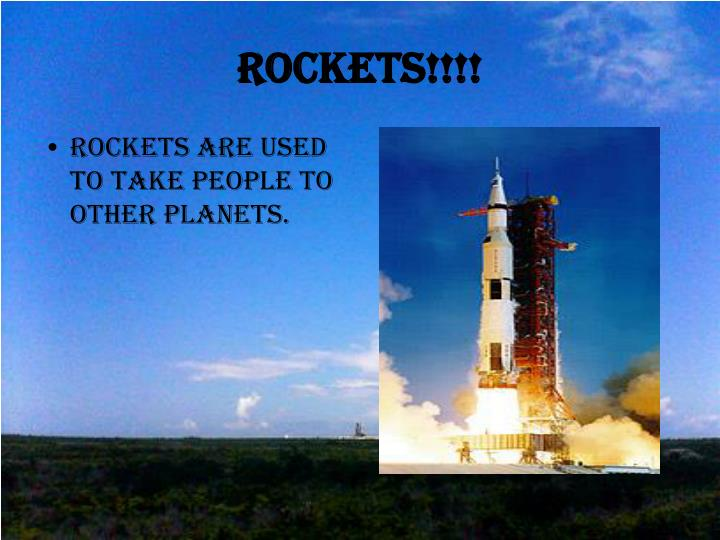 Rockets!!!!