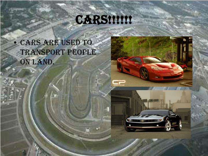 Cars!!!!!!