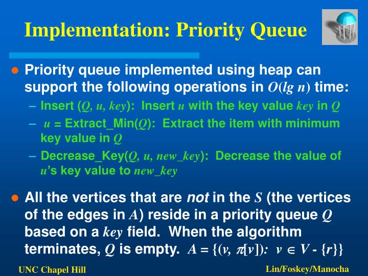 Implementation: Priority Queue
