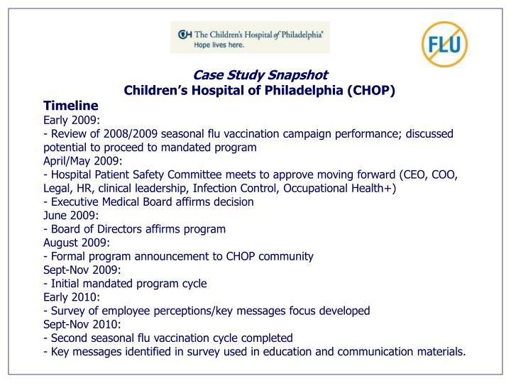 Case Study Snapshot