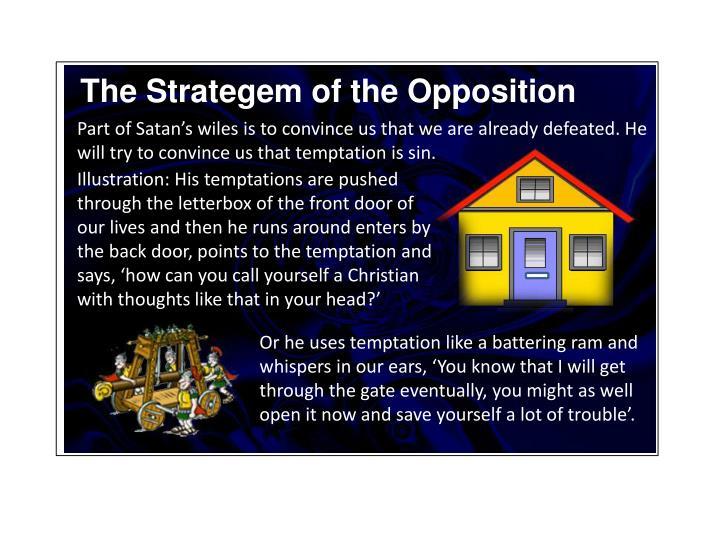 The Strategem of the Opposition