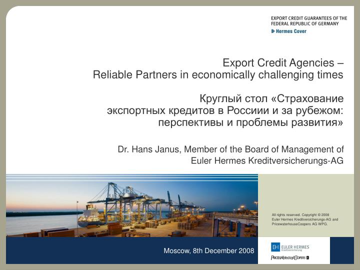 Export Credit Agencies