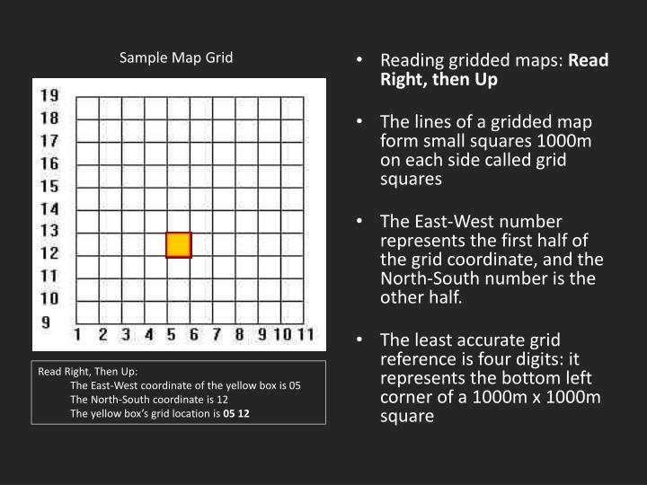 Sample Map Grid