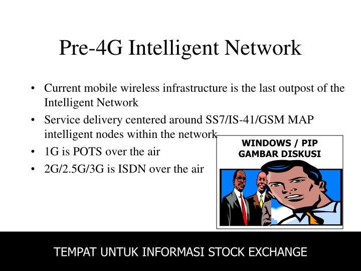 Pre-4G Intelligent Network