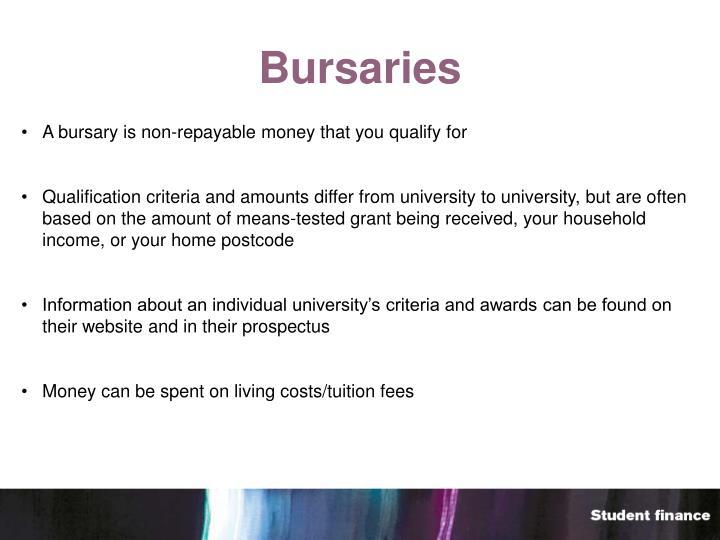 Bursaries
