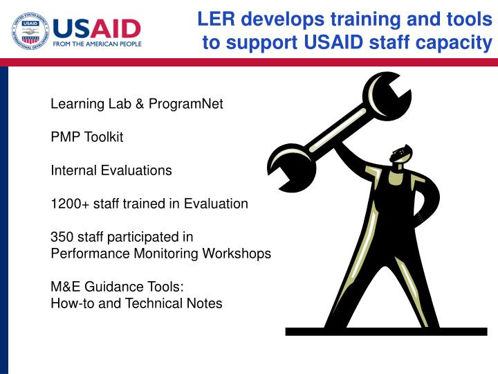 LER develops training and tools