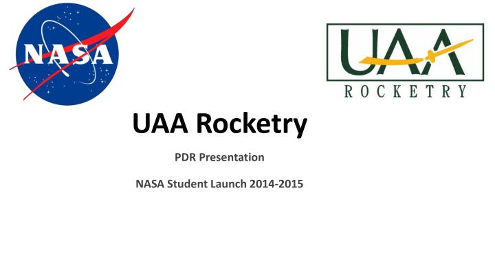 Uaa rocketry