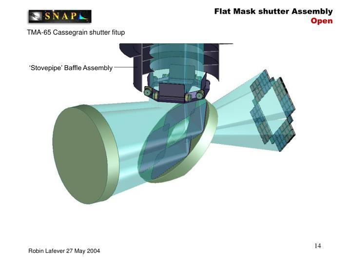 Flat Mask shutter Assembly