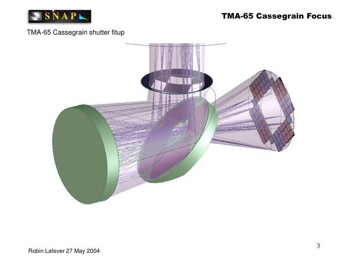 TMA-65 Cassegrain Focus