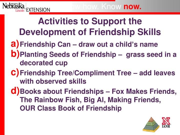 the importance of friendship in developing social skills Social skills - australian gifted support centre give us a call 0417 208 562   she points out the importance of spending at least some time with   friendships and the asynchronous development of gifted children's friendship  expectations.