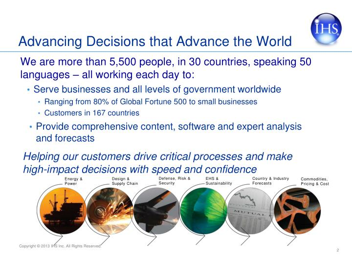 Advancing Decisions that Advance the World