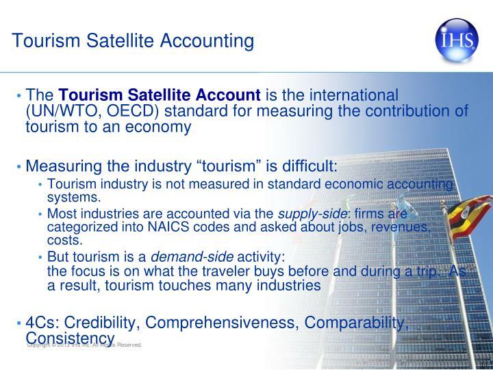 Tourism Satellite Accounting
