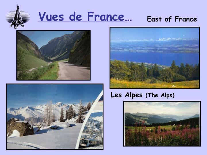 Vues de France