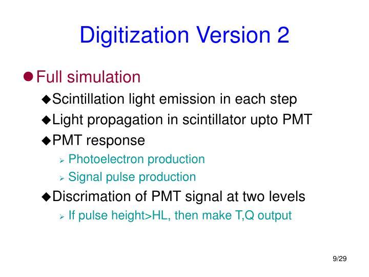 Digitization Version 2