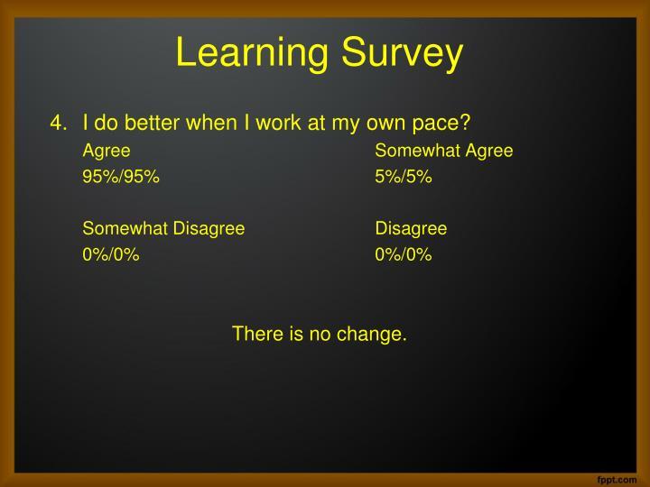 Learning Survey
