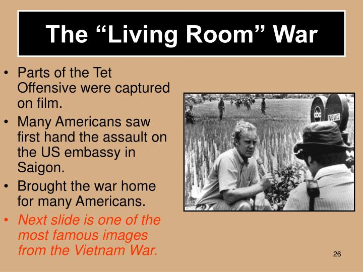 The Living Room War Vietnam Walter Kronkite Photo