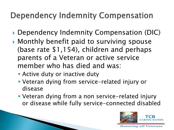 Dependency Indemnity Compensation