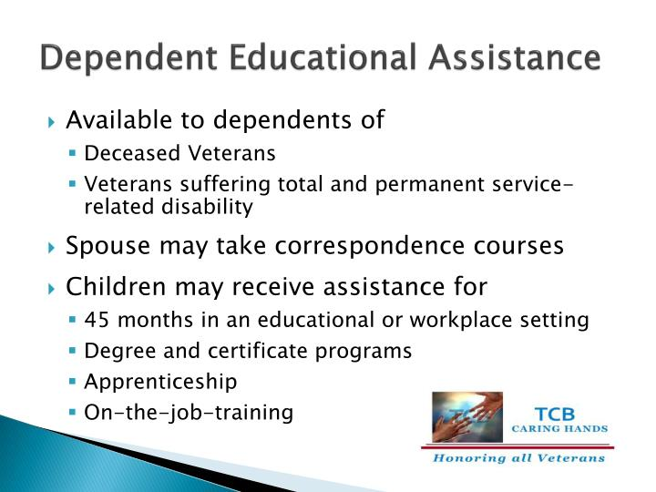 Dependent Educational Assistance