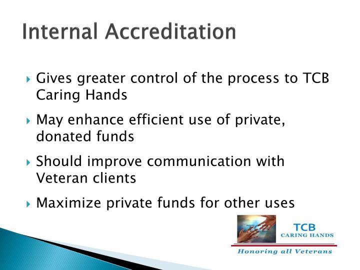 Internal Accreditation