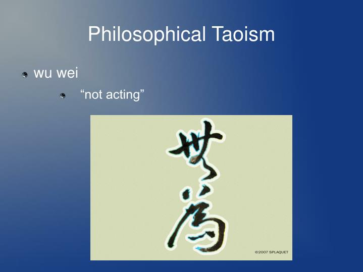 Philosophical Taoism