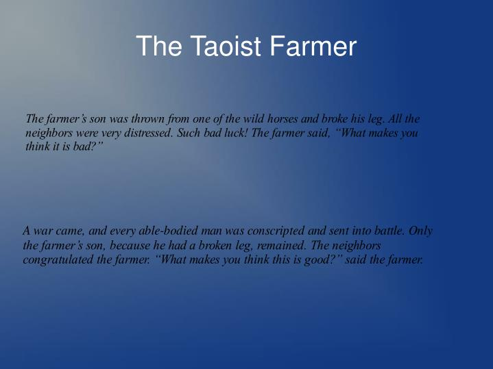 The taoist farmer1