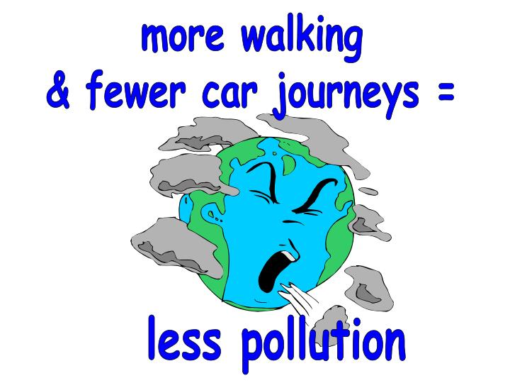 less pollution