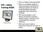 stk safety training kiosk