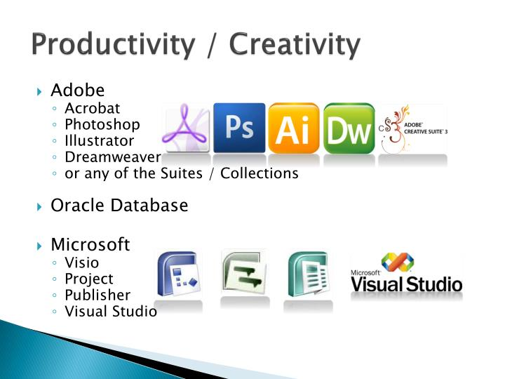 Productivity / Creativity
