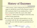 history of enzymes1