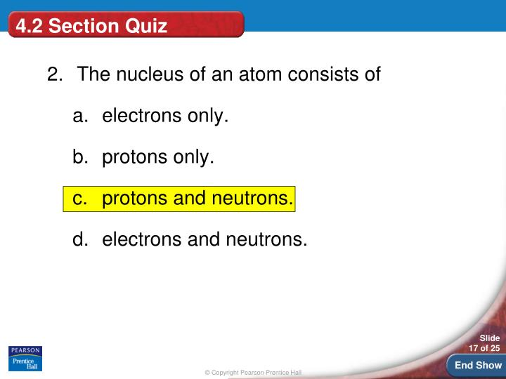 4.2 Section Quiz