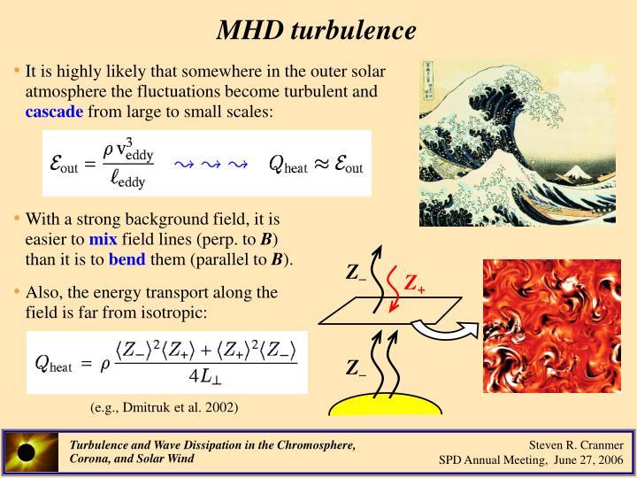 MHD turbulence