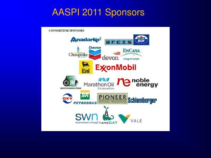 AASPI 2011 Sponsors