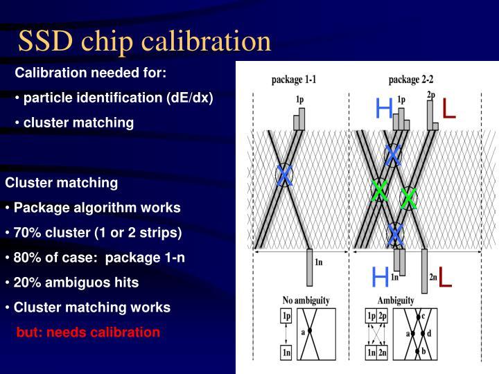 SSD chip calibration