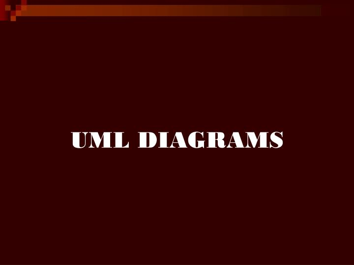UML DIAGRAMS