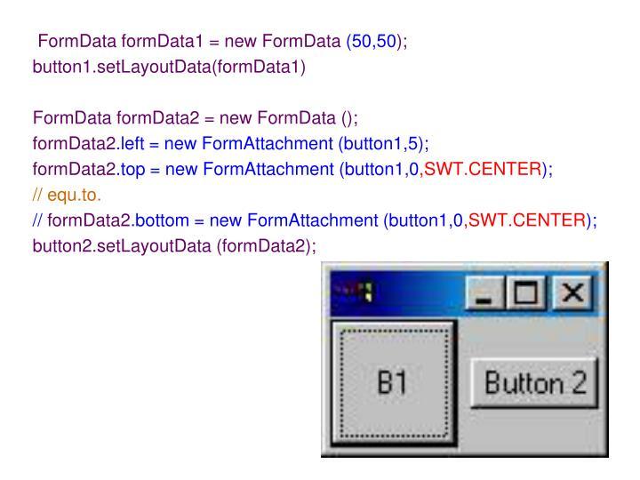 FormData formData1 = new FormData