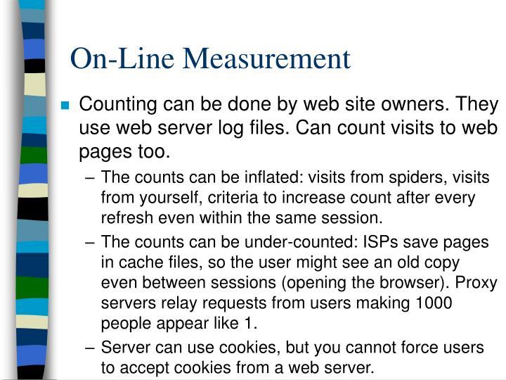 On-Line Measurement