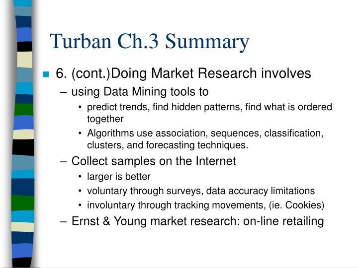 Turban Ch.3 Summary