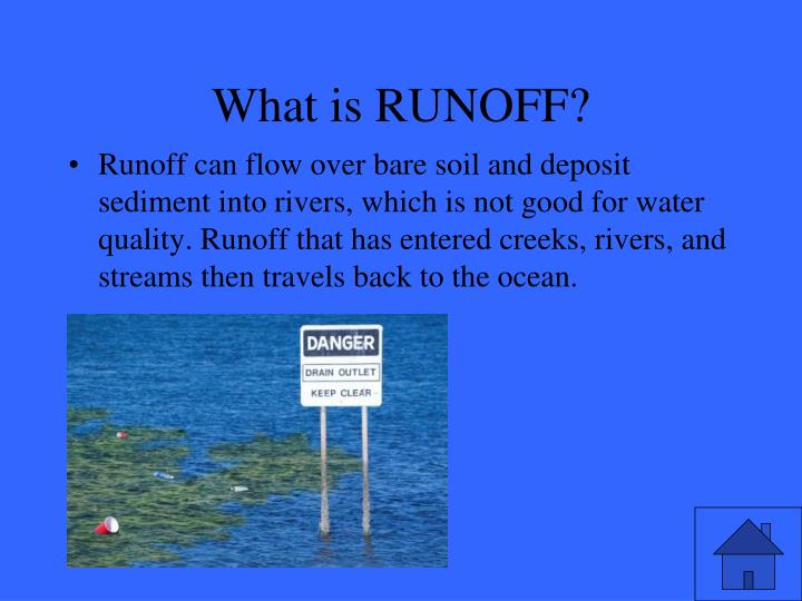 What is RUNOFF?