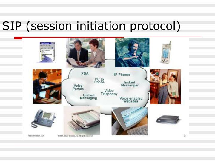 SIP (session initiation protocol)
