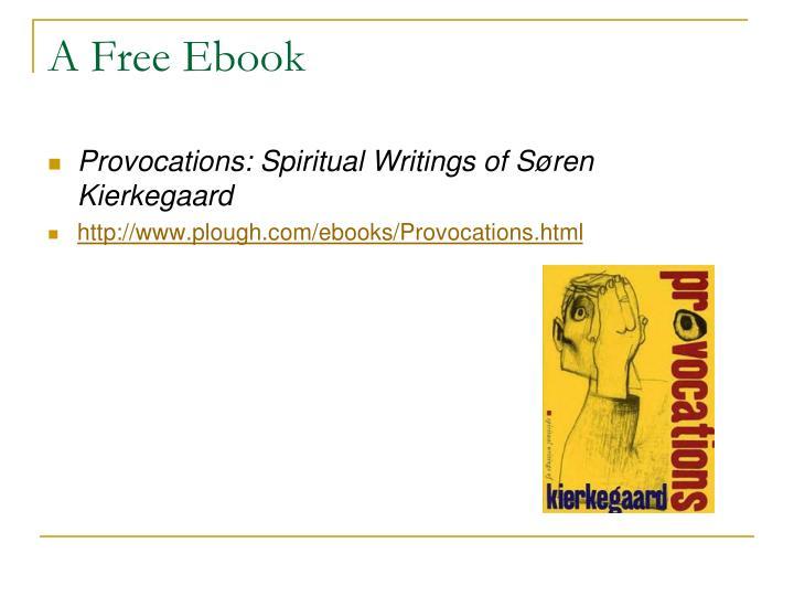 A Free Ebook