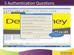 5 authentication questions1