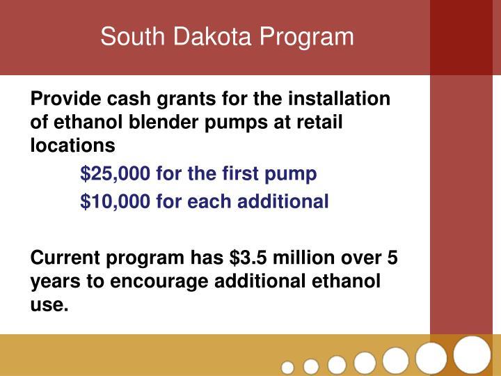 South Dakota Program
