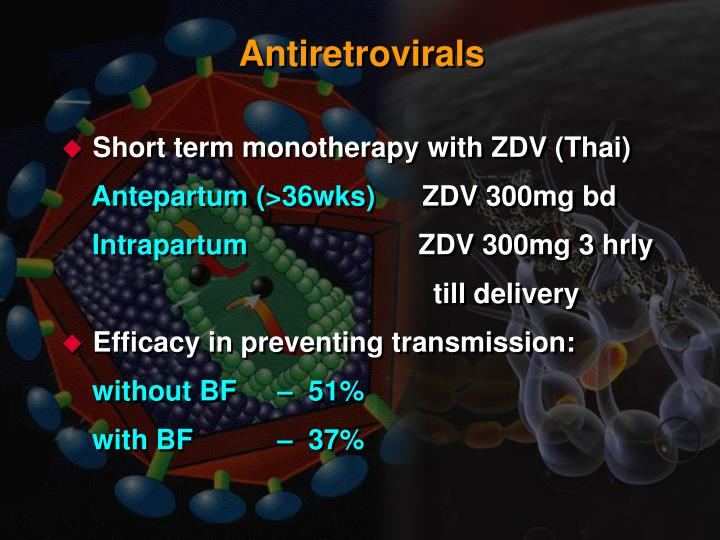 Antiretrovirals